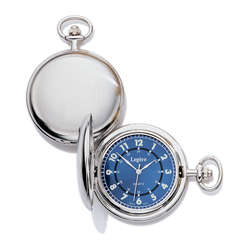 23k Rhodium Electroplated Pocket Timepiece