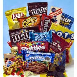 Snack Attack Variety Gift Basket