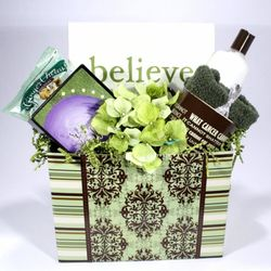 Believe Men's Cancer Basket
