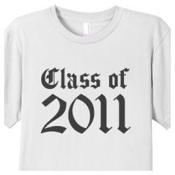 Men's Class of 2011 Classic Cotton T-Shirt