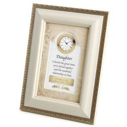 Daughter Picture Frame Clock