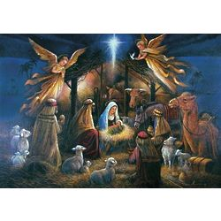 Air Force Association Nativity Christmas Card
