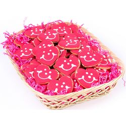 Individually Wrapped Nut Free Valentine Cookies