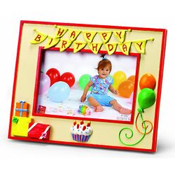 Happy Birthday Ceramic Picture Frame