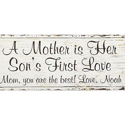 Personalized First Memories Canvas for Mom