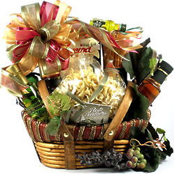 Vineyard Gourmet Italian Food Gift Basket