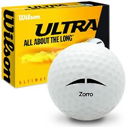Zorro Mustache Ultimate Distance Golf Balls