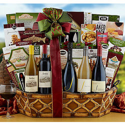 Jordan and J Winery Gift Basket