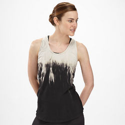 Women's Black Dasha Racerback Top