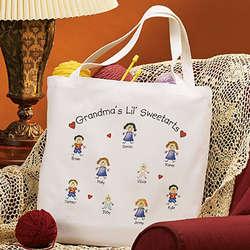 Grandma's Lil Sweetarts Tote Bag