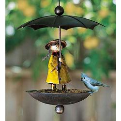 Rain Girl Birdfeeder