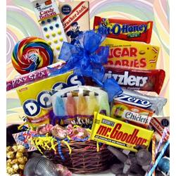 Blast from The Past Candy Gift Basket