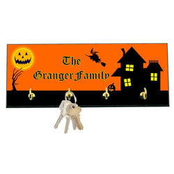 Haunted House Family Key Holder