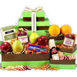 Gourmet Harvest Gift Tower