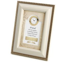 Friend Picture Frame Clock