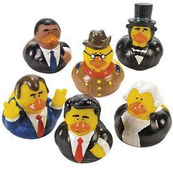 Presidential Rubber Duckies