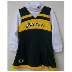 Green Bay Packers Infant Cheerleader Jumper Set