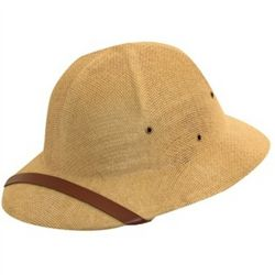 Tan Safari Pith Hat
