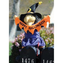 Witch Mailbox Topper