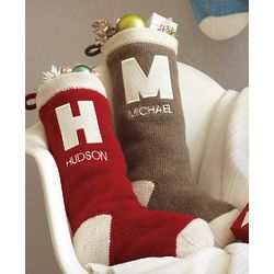 Monogram Vintage Stocking
