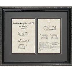 16x20 Porsche Patent Art