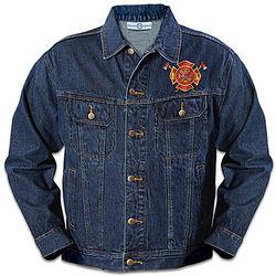 Firefighter's Brotherhood of Courage Denim Jacket