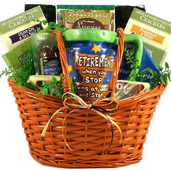 Retirement Party Gift Basket
