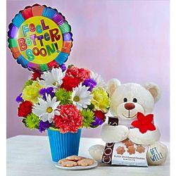 Lotsa Love Feel Better Soon Bouquet Gift Set