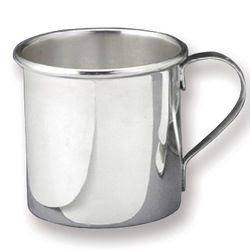 Small Solid Sterling Silver Baby Cup