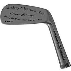 Personalized Mashie Golf Club