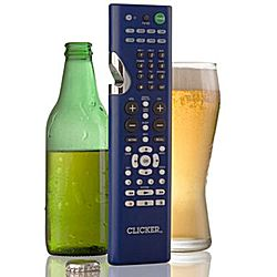 Clicker 2 in 1 TV Remote and Bottle Opener