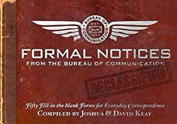 Formal Notices - 50 Fill-in Forms for Everyday Correspondence