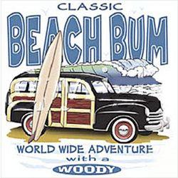 Classic Beach Bum Woody T-Shirt
