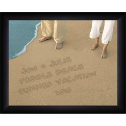 Personalized Sandy Toes Beach Print