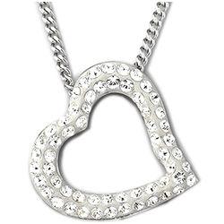 Swarovski Crystal Mozart Heart Pendant
