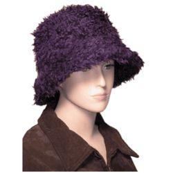 Fuzzy Winter Bucket Hat for Women