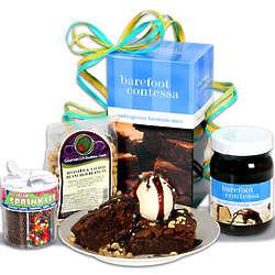 Brownie Sundae with Barefoot Contessa Gift Set