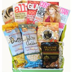 Fashion and Beauty Magazines and Treats Cheeriodical Gift Box