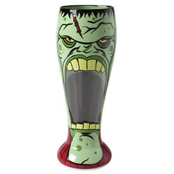 Monster Halloween Glass