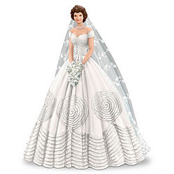 Graceful for a Joyous Occasion Jackie Kennedy Figurine