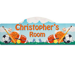 Personalized Sports Kid's Sign