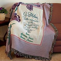 Personalized Moments Tapestry Throw