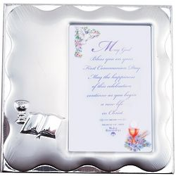 Engravable First Communion Photo Frame