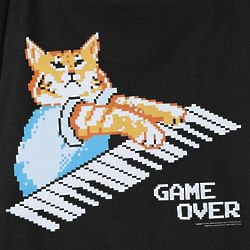 Keyboard Cat 8 Bit Tee