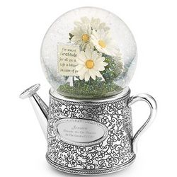 Watering Can Snow Globe