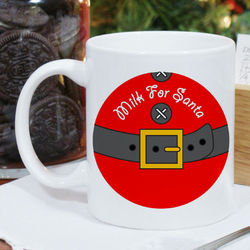 Milk for Santa Ceramic Mug