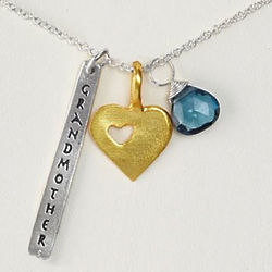 Grandmothers Hold Our Hand Necklace