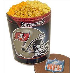 Tampa Bay Buccaneers 3 Way Popcorn Tin