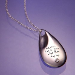 'Heaven Has in Store' Memorial Necklace