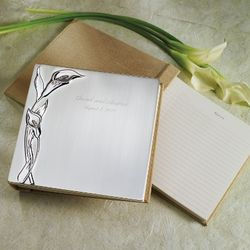 Calla Lily Wedding Guest Book